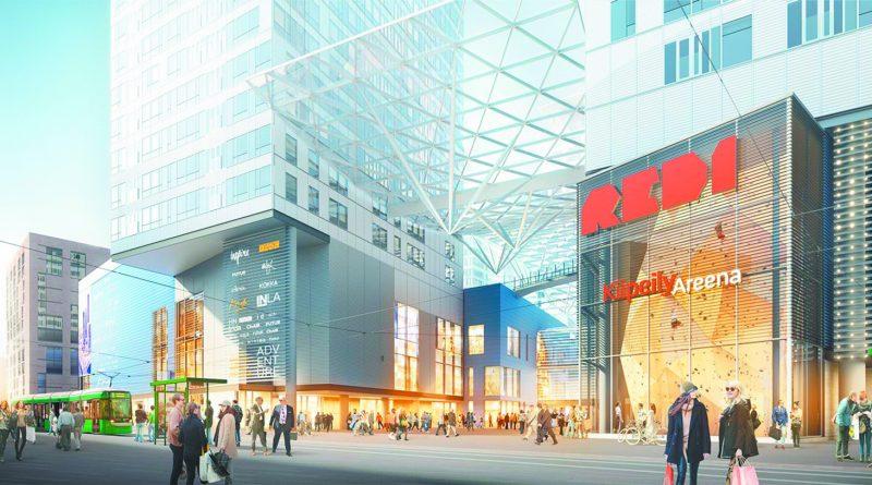 Торговый центр «REDI» открыт