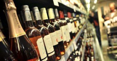 Алкоголь сдает позиции
